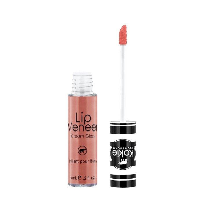 Kokie Cosmetics Lip Veneer Cream Lip Gloss kremowy błyszczyk 6ml  Bashful