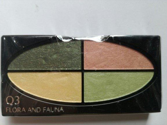 Shiseido Silky Eye Shadow Quad Poczwórne cienie do powiek 2,5g wkład Q3 Flora And Fauna