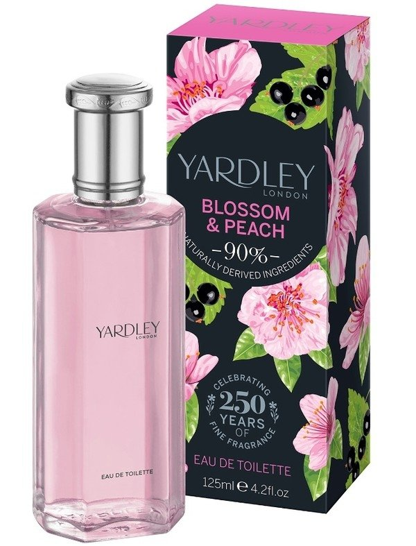 Yardley Blossom & Peach woda toaletowa 125ml