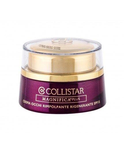 Collistar Magnifica Plus Replumping Regenerating wygładzający krem pod oczy 15ml