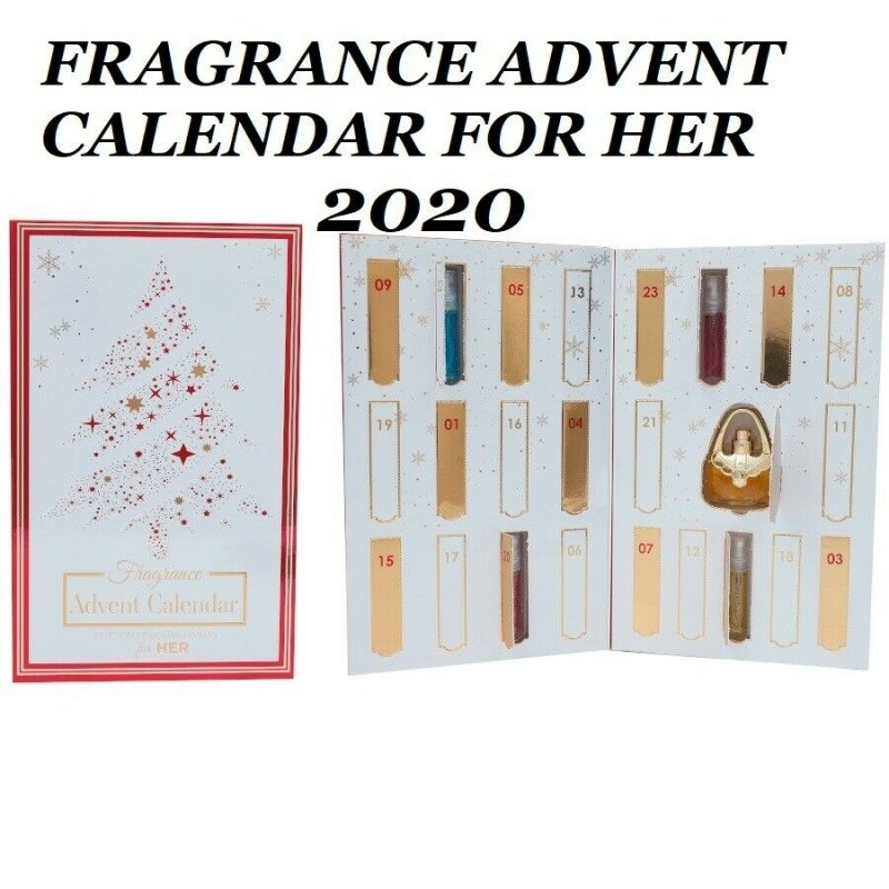 Saffron 24 Day Gift Advent Calendar For Her zestaw 24 zapachów dla kobiet