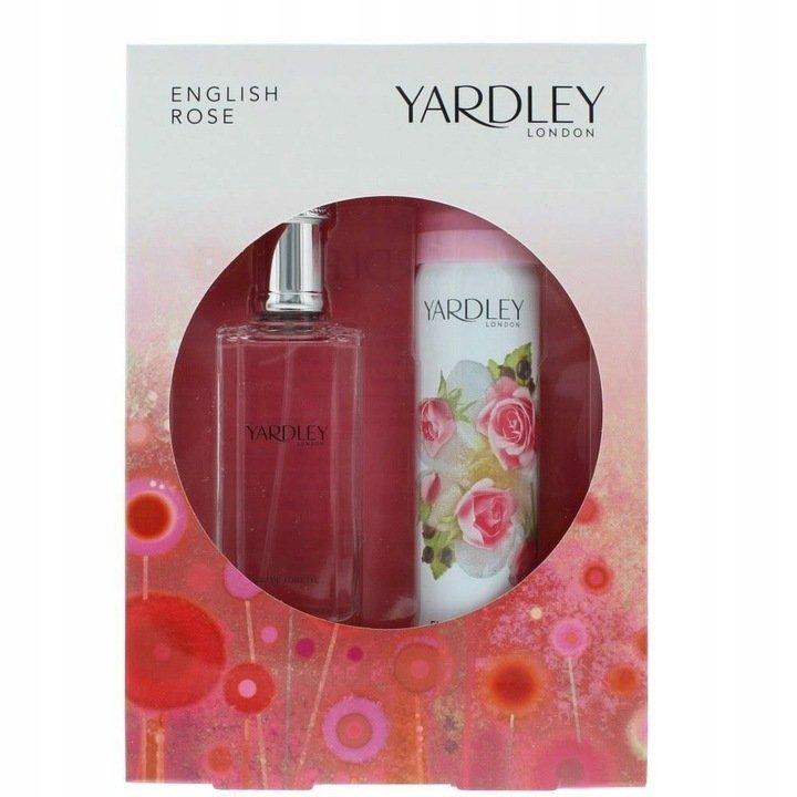 Yardley English Rose zestaw upominkowy 50 ml +75 ml