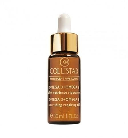 Collistar Nourishing Repairing olejek naprawczy z kwasami omega 3 i omega 6 30ml