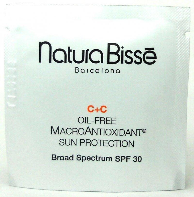 Natura Bisse C+C Vitamin bezolejowa makro -antyoksydacyjna ochrona przeciwsłoneczna 6 ml
