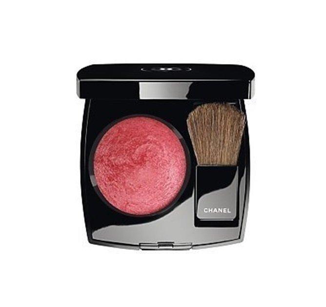 Chanel Joues Contraste Powder Blush Róż z pędzelkiem 4g 79 Rouge