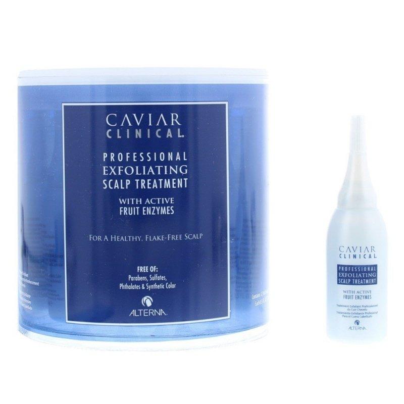 Alterna Clinical Exfoliating Scalp Treatment peeling oczyszczający włosy w ampułkach 12x15ml