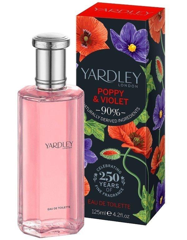 Yardley Poppy and Violet woda toaletowa 125ml