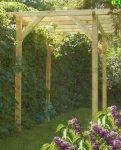 P03 pergola drewniana OLIMP
