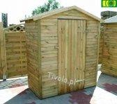 Drewniany domek narzędziowy 75 x 145 NR-01