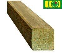 Drewniany słupek, kantówka 90x90x900