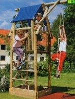 Drewniany zestaw do zabawy w ogrodzie ALEXANDER