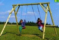 P03 drewniana huśtawka dla dzieci  MAX