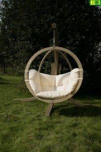 H05 drewniany fotel wiszący jednoosobowy ZOSIA