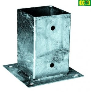 Metalowa kotwa do betonu 70x70