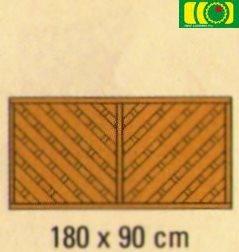L38 płot diagonalny (180x90)