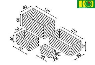 O06 donica 4-warstwy (40x70)
