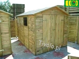 DM16 drewniany domek narzędziowy (220x280) NR-04