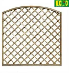 KR18 kratka ogrodowa z łukiem (180x180)