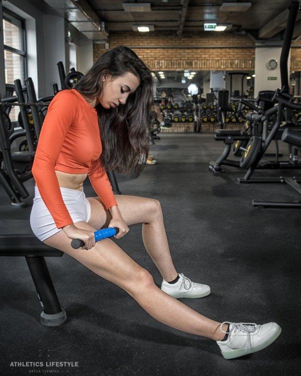 Rozluźnianie mięśni uda