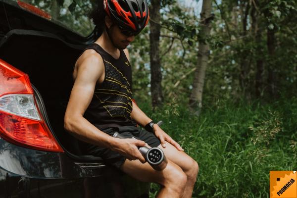 PISTOLET SPORTOWCA - z podgrzewaną głowicą dla rowerzystów
