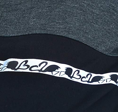 MijaCulture - 3 w 1 bluza ciążowa i do karmienia M72 4111 grafit/czarny 1