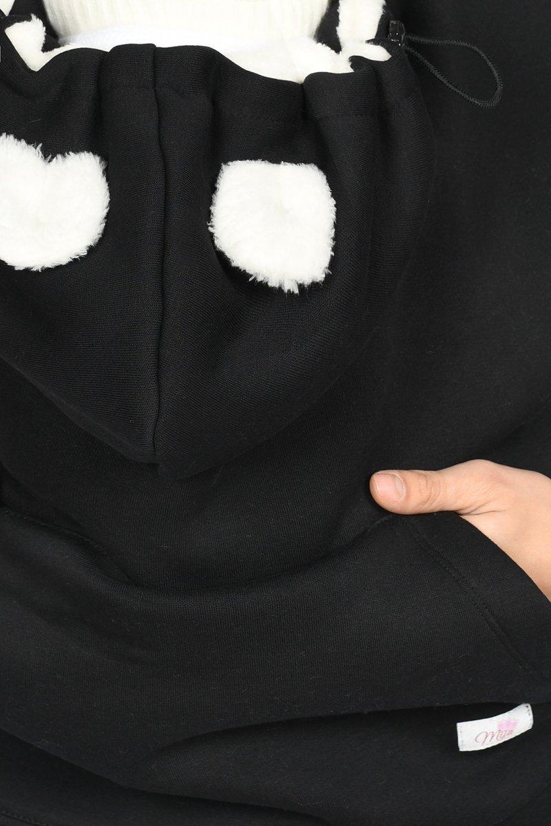 MijaCulture Osłona otulacz z futerkiem M98/4129 czarny