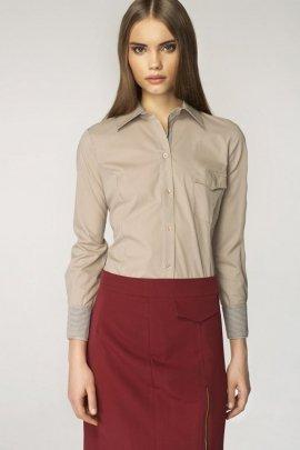 Modne koszule damskie eleganckie białe, czarne, w kratę i  LLxDb