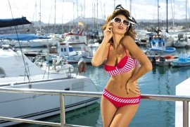 Kostium kąpielowy Brooke Venere M-225 Czerwony (14)