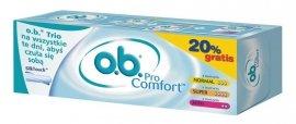 O.B.Pro Comfort Normal 8szt+Pro Comfort Super 8szt+Pro Comfort Mini 8szt