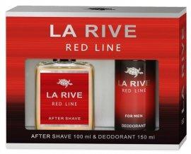 La Rive La Rive for Men Red Line Zestaw/woda p/g100ml+deo150ml/