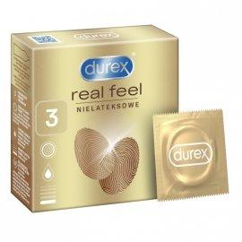 Durex Prezerwatywy Real Feel 3 szt