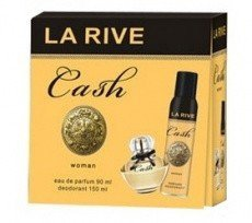 La Rive La Rive for Woman La Rive Cash Zestaw/edp90ml+deo150ml/