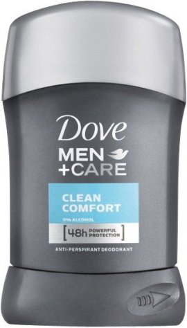 Dove Antyperspiranty Men Care Clean Comfort antyperspirant w sztyfcie