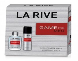 La Rive La Rive for Men Game Zestaw /edt100ml+deo150ml/
