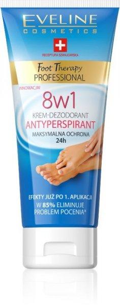 Eveline Foot Therapy Professional Krem-antyperspirant 8w1  100ml