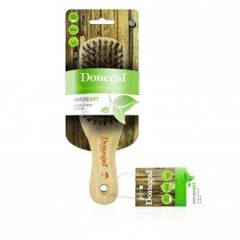 DONEGAL SZCZOTKA DREWNIANA Krótka mieszane włosie naturalne (1243) 1szt