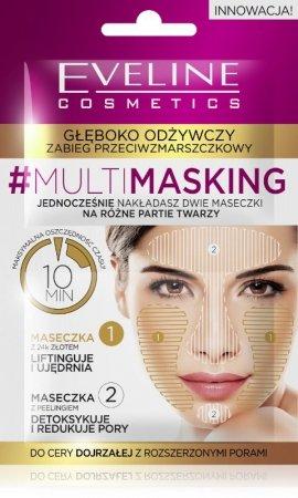 Eveline #Multi Masking Zabieg odżywczy przeciwzmarszczkowy do cery dojrzałej  2x5ml