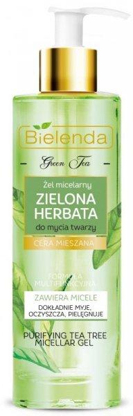 Bielenda Zielona Herbata Żel micelarny oczyszczający do twarzy - cera mieszana  200ml