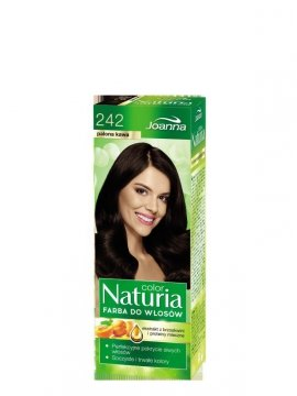 Joanna Naturia Color Farba do włosów nr 242-palona kawa  150g