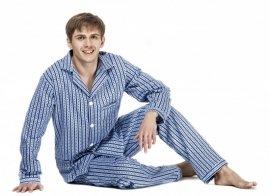 Piżama Kuba Flanela Nadwymiar 4XL-5XL