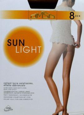 Rajstopy Omsa Sun Light 8 den