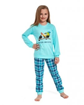Piżama Cornette Young Girl 592/82 Toucan dł/r N