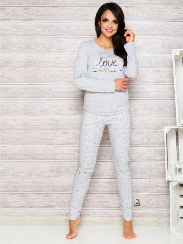 Piżama Malina 1198 AW/17 K2 Szara