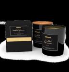 Duża świeca konopna wosk sojowo/konopny CBD 1,5% aromatyczna