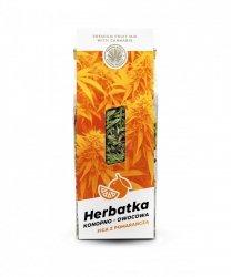 Herbatka konopno owocowa FIGA Z POMARAŃCZĄ 45g
