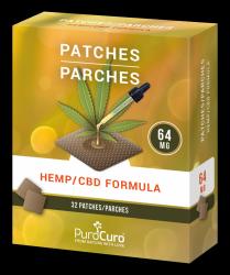 Plastry PuroCuro CBD Formula 32szt/64mg