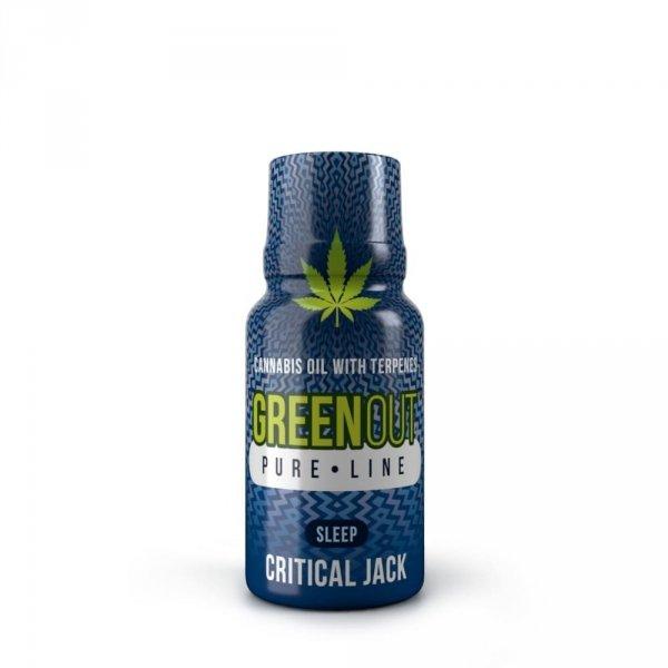 Green Out Pure Mini Critical Jack SLEEP – Ekstrakt Premium 200mg
