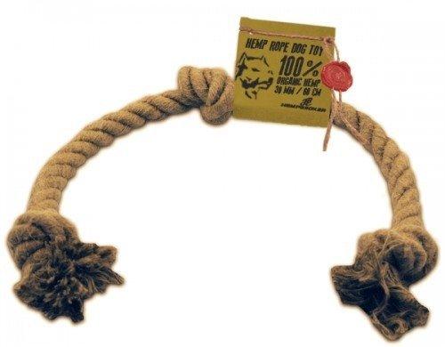 Sznur konopny zabawka dla psa (30mm/60cm)