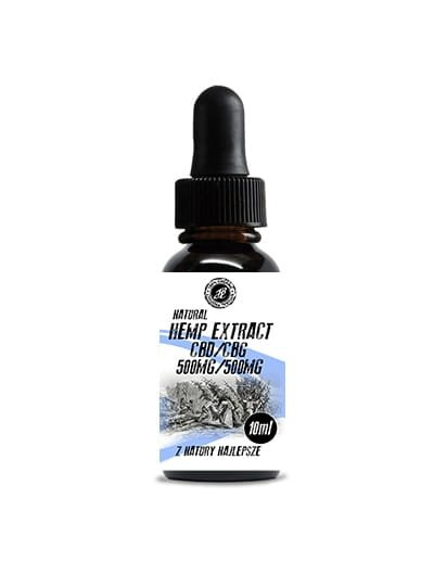 HempExtract 1000mg CBD+CBG 10ML