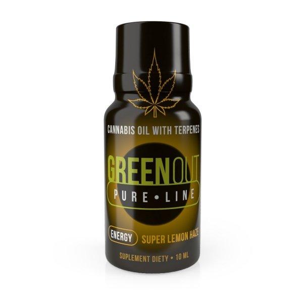 Green Out Pure Mini Super Lemon Haze ENERGY – Ekstrakt Premium 200mg